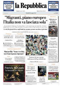 la Repubblica - 20 Maggio 2021