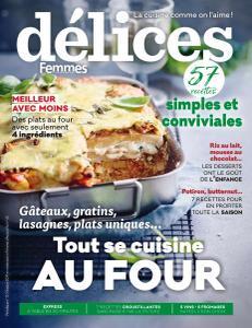 Délices de Femmes d'Aujourd'hui N°12 - Octobre 2019