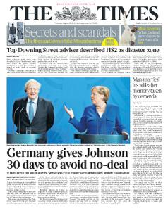 The Times - 22 August 2019