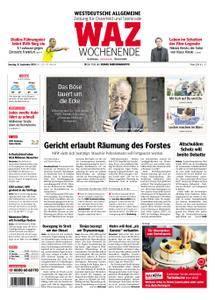 WAZ Westdeutsche Allgemeine Zeitung Oberhausen-Sterkrade - 15. September 2018