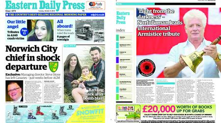 Eastern Daily Press – October 09, 2018