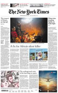 International New York Times - 14 December 2018