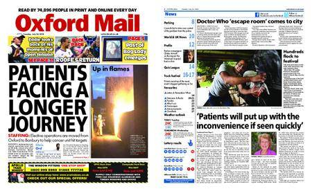 Oxford Mail – July 24, 2018