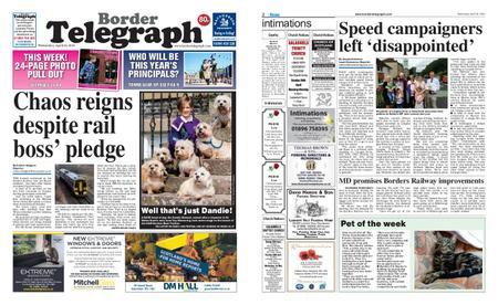 Border Telegraph – April 24, 2019