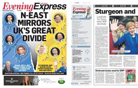Evening Express – December 13, 2019