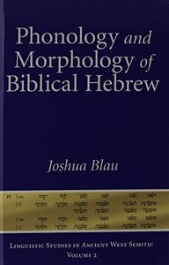 Biblical Hebrew Phonology and Morphology: An Introduction