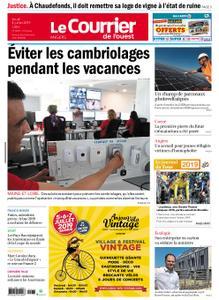 Le Courrier de l'Ouest Angers – 04 juillet 2019