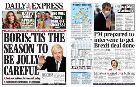 Daily Express – November 24, 2020