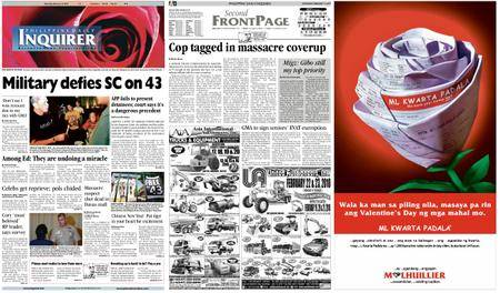 Philippine Daily Inquirer – February 13, 2010