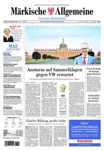 Märkische Allgemeine Zossener Rundschau - 02. November 2018