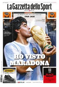 La Gazzetta dello Sport – 26 novembre 2020