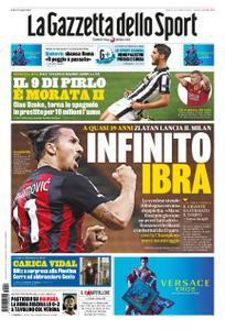 La Gazzetta dello Sport – 22 settembre 2020