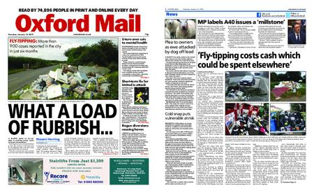 Oxford Mail – January 10, 2019