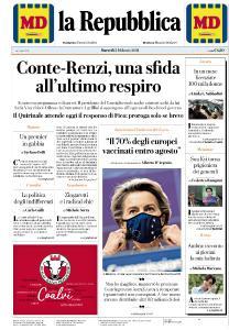la Repubblica - 2 Febbraio 2021