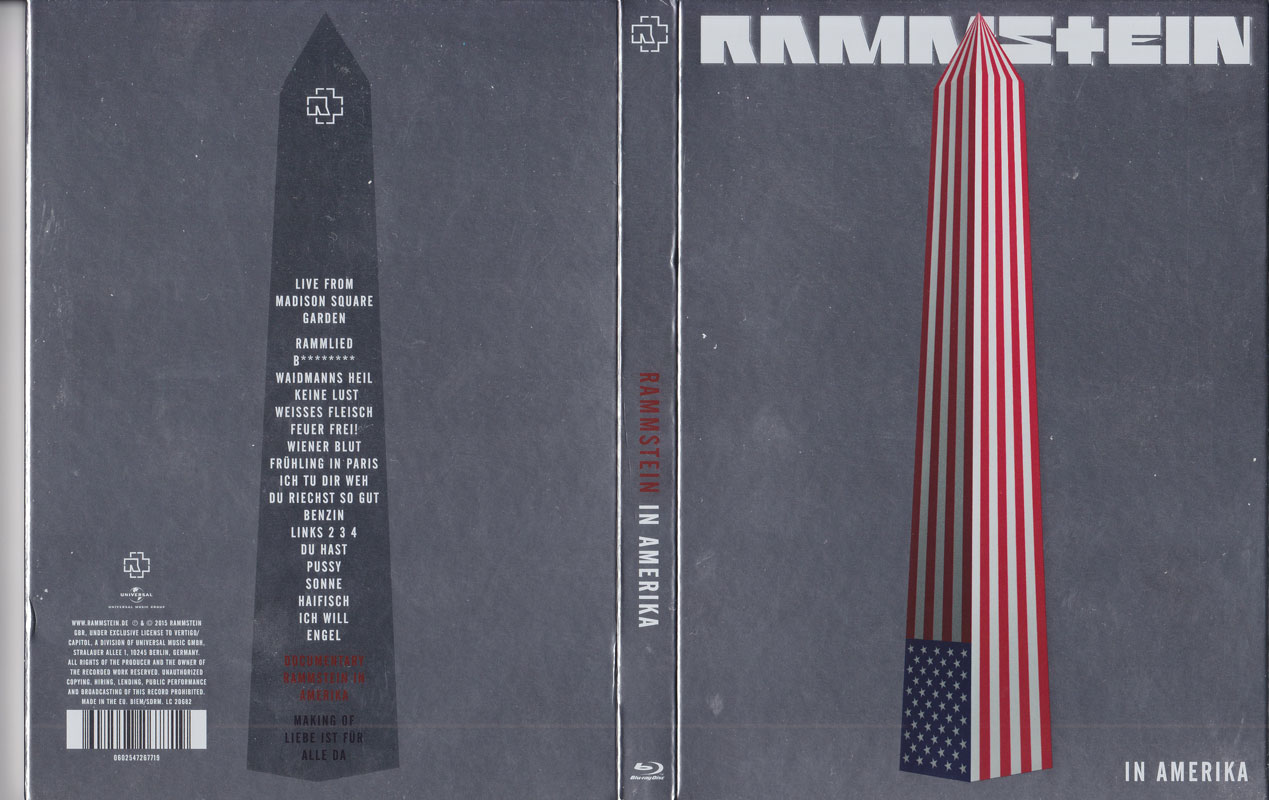 Rammstein - In Amerika (2015) Re-up