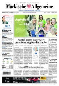 Neue Oranienburger Zeitung - 28. Juli 2018