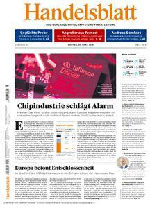 Handelsblatt - 30. April 2018