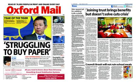 Oxford Mail – February 22, 2019
