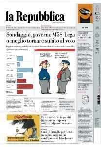 la Repubblica - 17 Marzo 2018