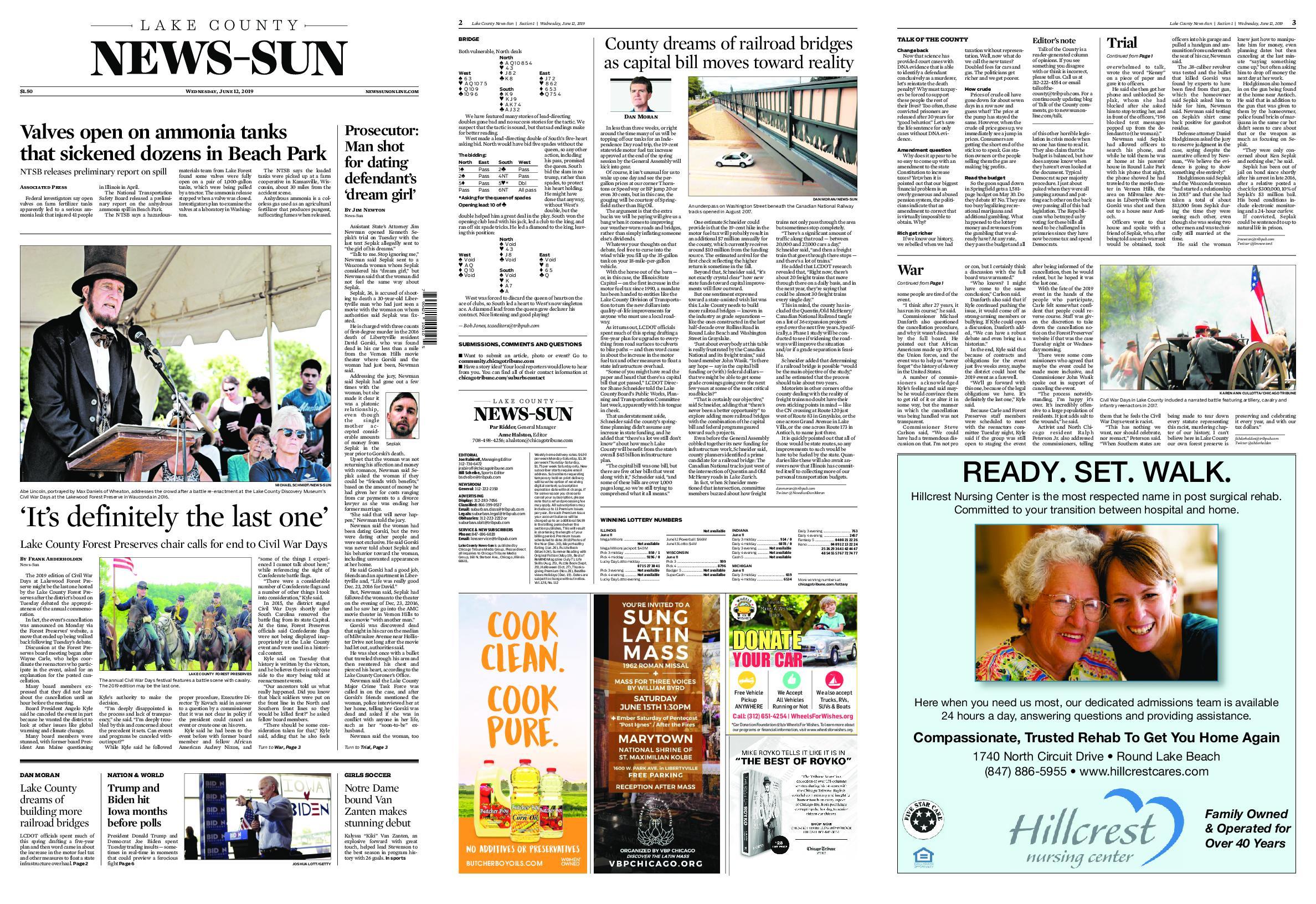 Lake County News-Sun – June 12, 2019