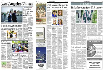 Los Angeles Times – October 13, 2018