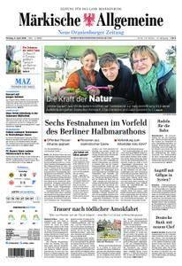 Neue Oranienburger Zeitung - 09. April 2018