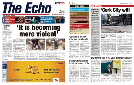 Evening Echo – April 17, 2020