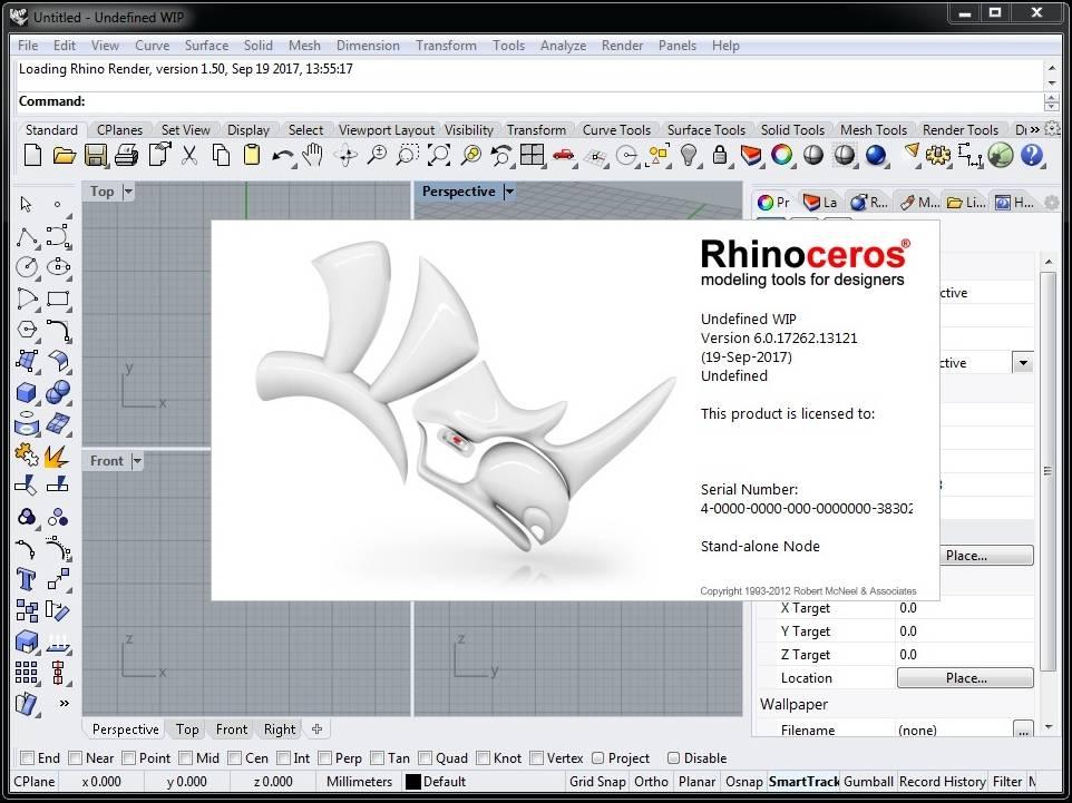 Rhino 6 WIP version 6 0 17262 13121 / AvaxHome