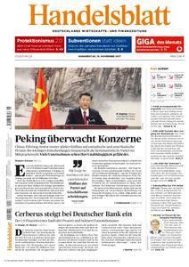 Handelsblatt - 16. November 2017