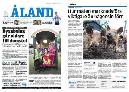 Ålandstidningen – 17 september 2019