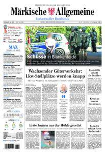 Märkische Allgemeine Luckenwalder Rundschau - 09. Juli 2018