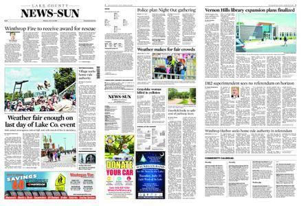 Lake County News-Sun – July 30, 2018