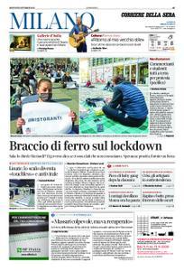 Corriere della Sera Milano – 29 ottobre 2020