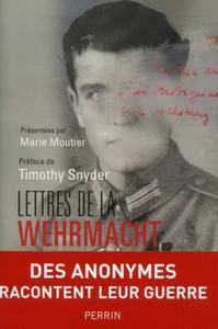 """Marie Moutier, Fanny Chassain, """"Lettres de la Wehrmacht"""""""