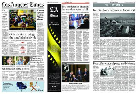 Los Angeles Times – January 18, 2018