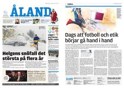 Ålandstidningen – 04 februari 2019