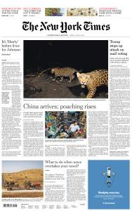 International New York Times - 26 June 2020