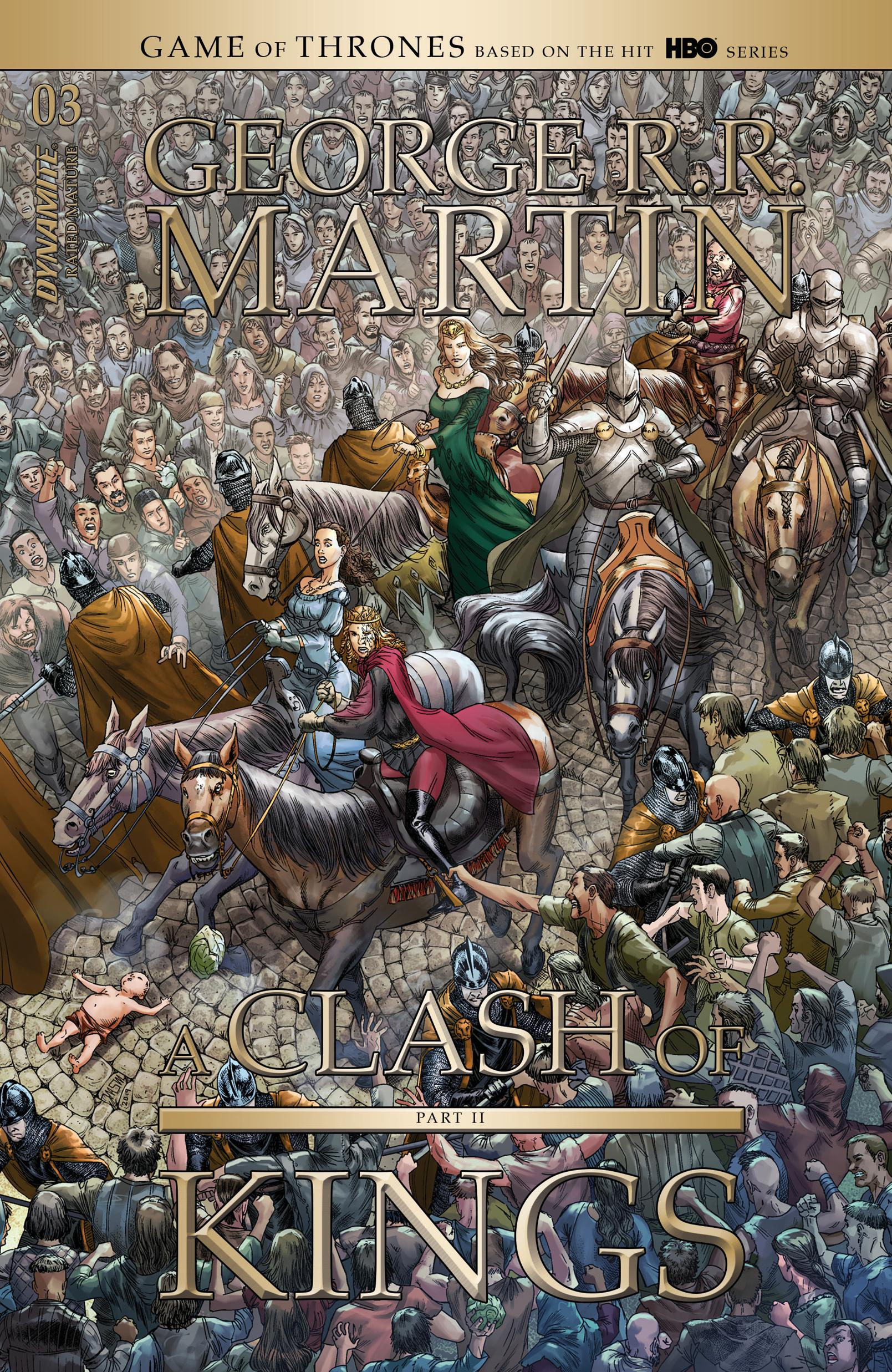 George R R Martins A Clash of Kings 003 2020 2 covers digital Son of Ultron