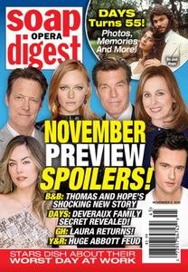 Soap Opera Digest - November 09, 2020