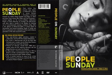 People on Sunday (1930) [The Criterion Collection #569]