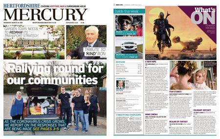 Hertfordshire Mercury – March 26, 2020