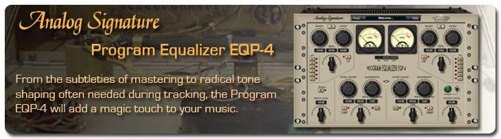 NomadFactory Program Equalizer EQP-4 VST RTAS v1.3