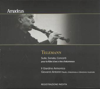 Telemann - Suite, Sonata, Concerti - Il Giardino Armonico, Giovanni Antonini (2015) {Amadeus AM 313-2}