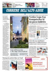 Corriere dell'Alto Adige – 30 novembre 2018