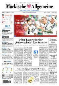 Märkische Allgemeine Luckenwalder Rundschau - 18. Juni 2018