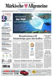 Märkische Allgemeine Luckenwalder Rundschau - 20. Januar 2018
