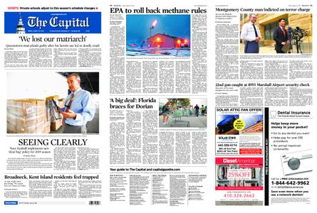 The Capital – August 30, 2019