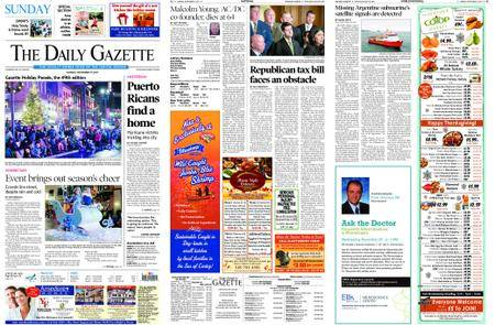 The Daily Gazette – November 19, 2017