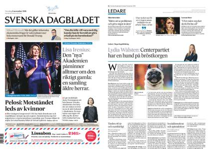 Svenska Dagbladet – 08 november 2018
