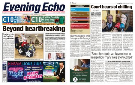Evening Echo – November 30, 2018